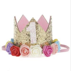 Coroa Colorida na Faixa