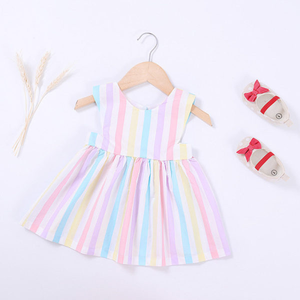 Vestido Listras Candy