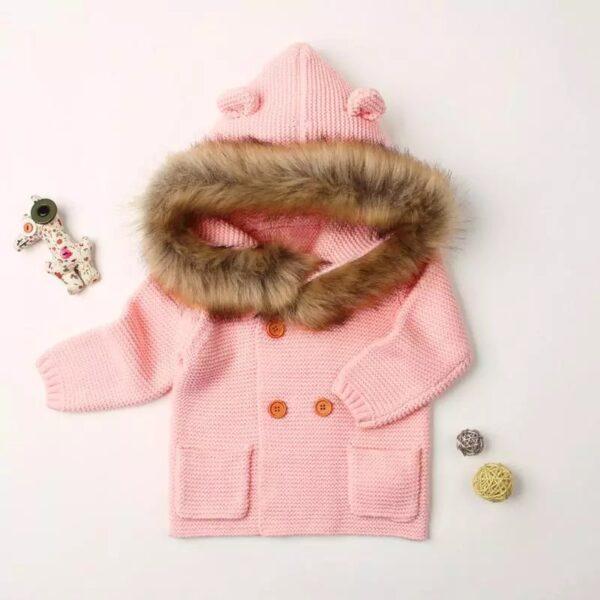 casaco pelinhos